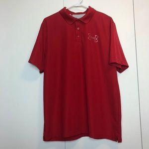 Under Armour Heat Gear Code Black Polo Shirt